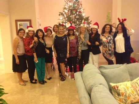 2012 Book Club Christmas Party