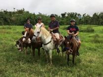 Riding in El Yunque